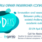 Call for Abstracts! EU-SPRI Early Career Researcher Conference 2020, Valencia, Spain